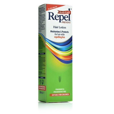 Repel - Anti-Lice Prevent Hair Lotion, Αντιφθειρική Λοσιόν - 200ml