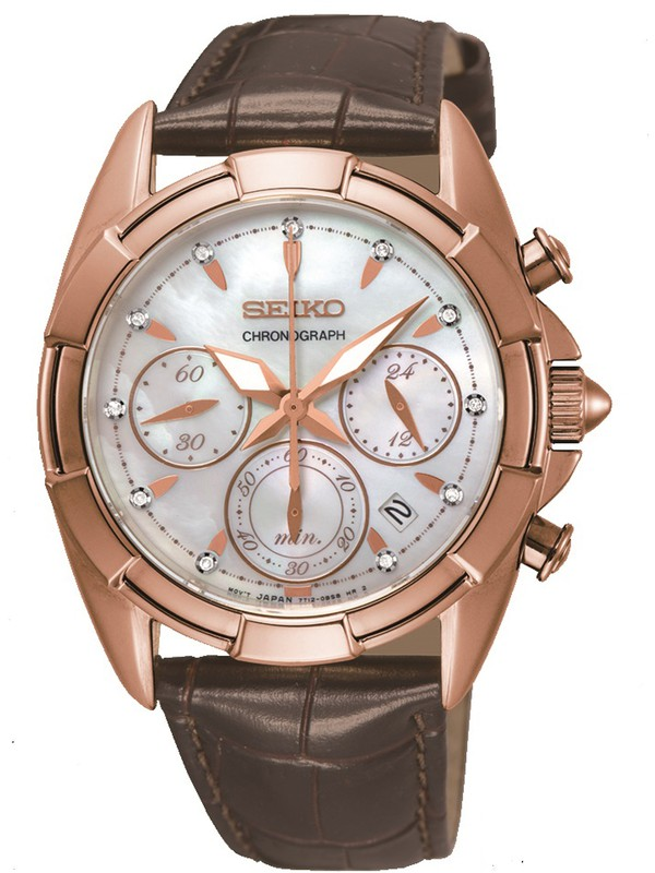 Ladies Diamonds Chronograph