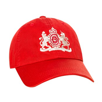 Red Jockey Hat