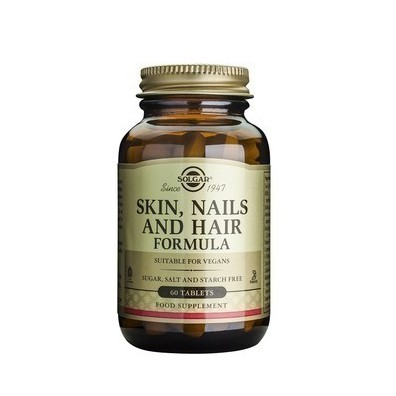 Solgar skin  nails and hair formula 60 tablets