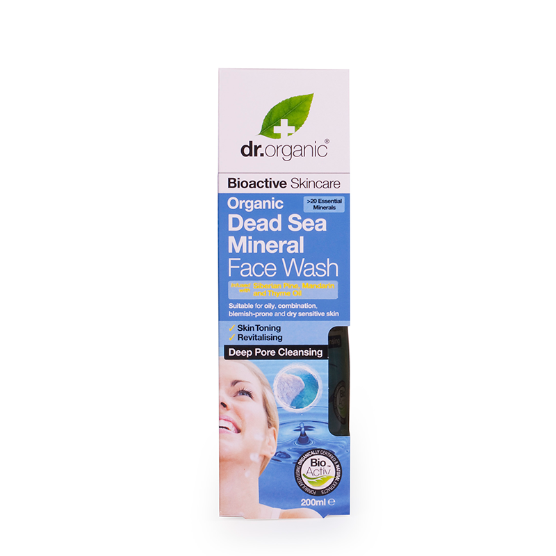Organic Dead Sea Mineral Face Wash