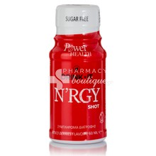 Power Health Drink it N'RGY SHOT - Άμεση Τόνωση, 60ml