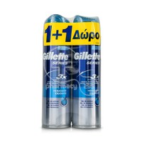 GILLETTE -  PROMO PACK 1+1 ΔΩΡΟ SERIES 3x Hidratante Gel Ξυρίσματος - 200ml