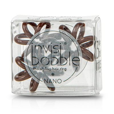 INVISIBOBBLE - NANO Pretzel Brown - 3τεμ.