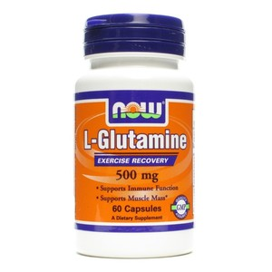 Now foods l glutamine 500mg