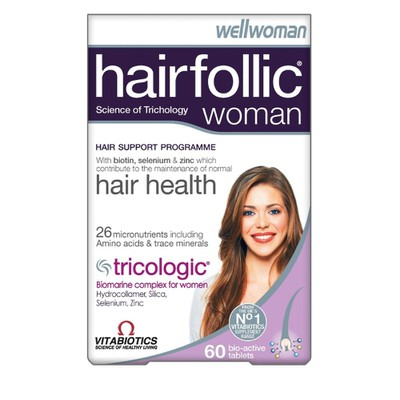 Vitabiotics(stop) - Hairfollic Woman - 60tabs
