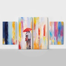 4panel color rain couple