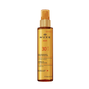 NUXE Sun tanning oil for face & body Spf30 150ml
