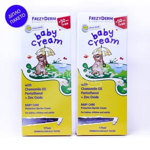 FREZYDERM Baby cream 2x175ml