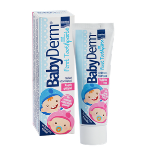 Intermed babyderm first toothpaste