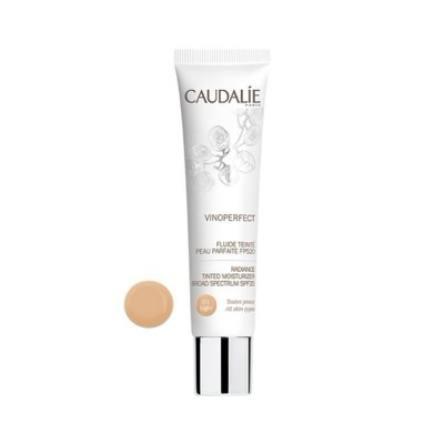 Caudalie - Vinoperfect Radiance Tinted Moisturizer SPF20 Light 01 - 40ml
