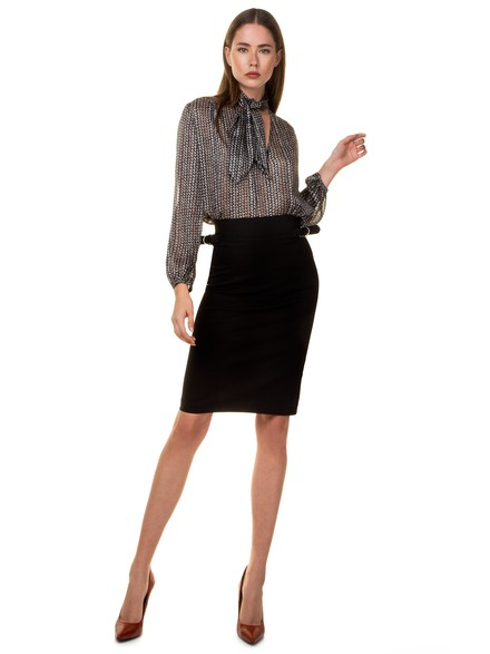 Midi office skirt