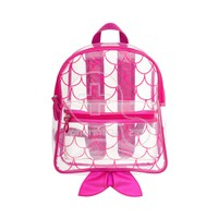 STEPHEN JOSEPH - Clear Backpack (Mermaid)