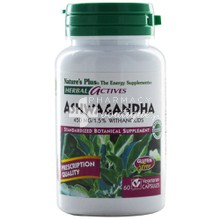 Nature's Plus ASWAGANDHA 450mg - Κατάθλιψη, 60 vcaps