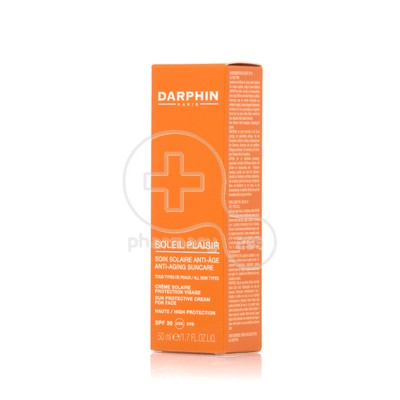 DARPHIN - SOLEIL PLAISIR Sun Protection Face Cream SPF30 - 50ml