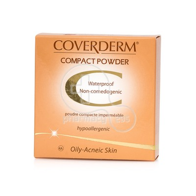 COVERDERM - COMPACT POWDER Oily/Acneic Skin No4Α - 10gr