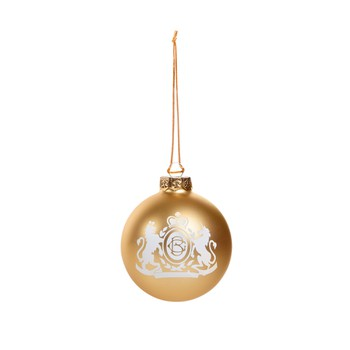 Christmas Ornament - Gold Ball