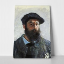Monet   self portrait with beret a
