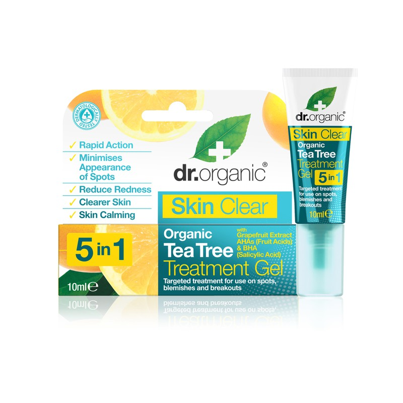 Skin Clear Organic Tea Tree Treatment Gel
