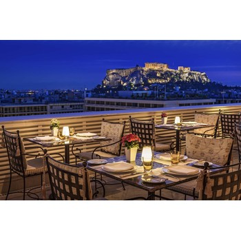 GIFT VOUCHER: 1 DINNER FOR 2 AT THE TUDOR HALL RESTAURANT OF KING GEORGE, ATHENS