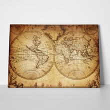 Vintage world map 1733 115649035 a