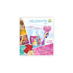 Helenvita Kids Promo With Shampoo & Shower Gel 500ml + Hair Condiotioner 200ml + Gift Comb Disney Princess 1 picie