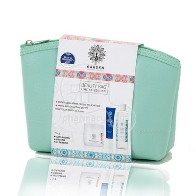 GARDEN - PROMO PACK BEAUTY BAG SET No1 Αντιρυτιδική κρέμα προσώπου & ματιών - 50ml,  Lifting Effect Eye Cream - 30ml & Micellar Water all-in-one - 100ml