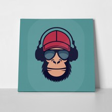 Monkey glasses headphones 586704437 a