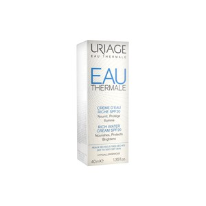 Uriage rich water cream spf20 40ml