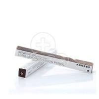 KORRES - CEDARWOOD Long Lasting  Eyebrow Pencil Σκούρα Απόχρωση 01