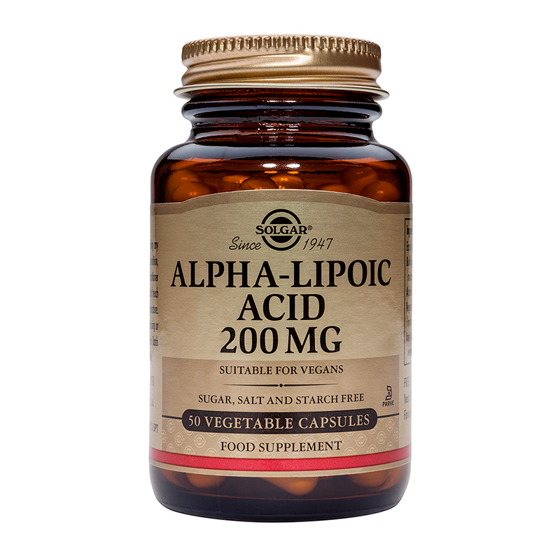 Alpha Lipoic Acid 200mg veg. caps