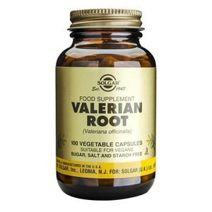 SOLGAR Valerian root 100vegetable capsules