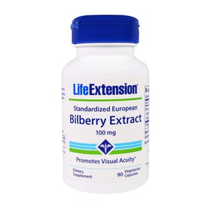 Life extension bilberry extract