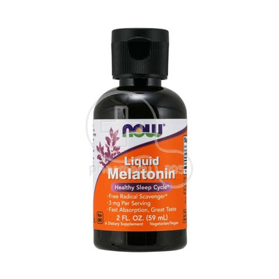 NOW -  Liquid Melatonin - 60ml