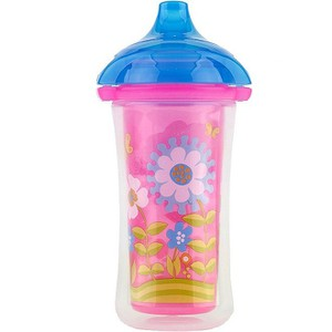 Munchkin insulated sippy pink