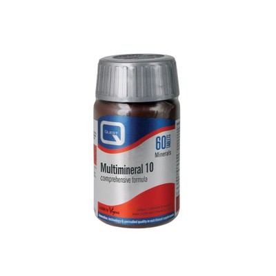Quest Vitamins - Multimineral 10 - 60tabs