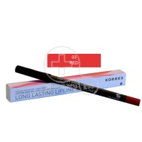 KORRES - COTTON SEED OIL Long Lasting Lipliner 03 Red - 1,2gr