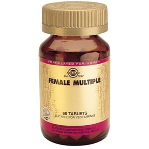 SOLGAR Female multiple 60tablets