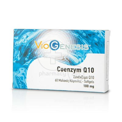 VIOGENESIS - Coenzym Q10 100mg - 60softgels