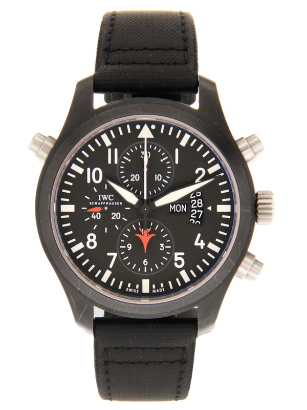 Pilots Double Chronograph Top Gun