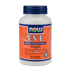 Now foods eve  women s multiple vitamin   90 softgels