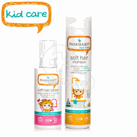 PHARMASEPT - PROMO PACK KID CARE Soft Hair Shampoo - 300ml &  Soft Hair Lotion - 150ml