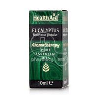 HEALTH AID - AROMATHERAPY Pure Essential Oil Eucalyptus - 10ml