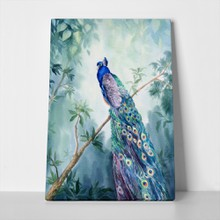 Peacock painting 610078607 a