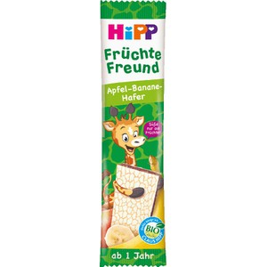 Hipp fruit bar banana apple