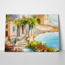 Greek summer painting 4 a