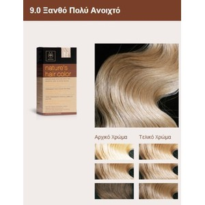 Apivita nature s hair color 9.0
