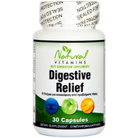 NATURAL VITAMINS DIGESTIVE RELIEF 30 CAPS
