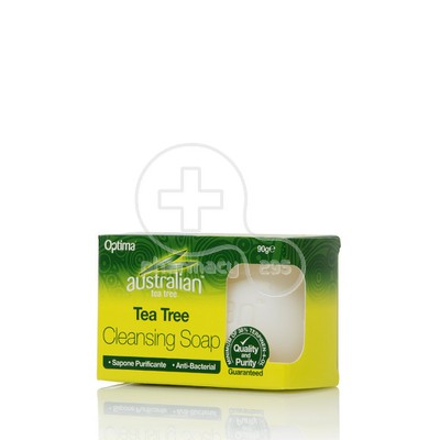 OPTIMA - Tea Tree Cleansing Soap - 90gr