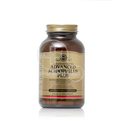 SOLGAR - Advanced Acidophilus Plus - 120caps